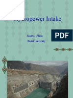 4.Lecture on Hydropower Intake