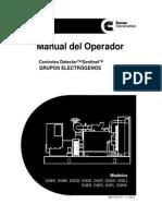 Manual de Operacion Modelos DG