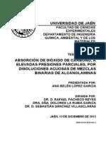 ABSORCIÓN DE DIÓXIDO DE CARBONO