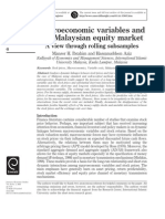 Macroeconomic Variables and ICM in Malaysia