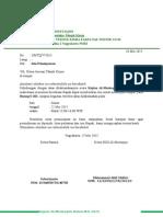 Surat Peminjaman Ruang