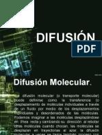 Difusion Masas