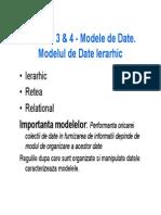 05 Curs3&4 ModeleDate Intro&Ierarhic