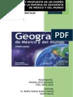 Diseño Curricular y Propuesta de La Materia de Geografia de Itzel Ortiz y Virginia Cruz Delgado
