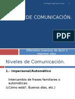Tipos de Comunicación - PPT