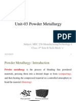 Powder Metallurgy pdf - Amrita University