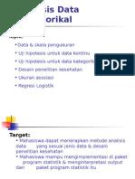 Analisis Data Katagorikal