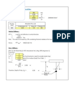 Stiffness Calculation for Pile