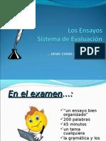 Ensayos - PPT