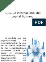 Gestión Internacional Del Capital Humano