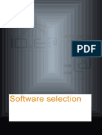 Software Selection Guidance