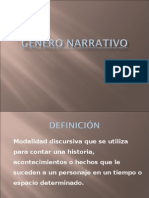 Género Narrativo - PPT
