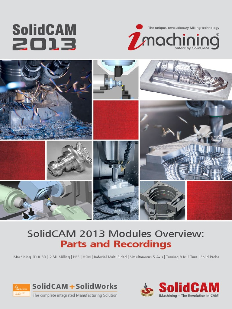 solidcam 2013 modules overview interactive machining drilling rh scribd com SolidCAM Post Processor SolidCAM vs Mastercam