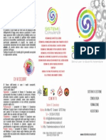 Sistemi & Consulenze Brochure Esterno