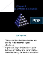 Ch3-Metal and Ceramic Structures