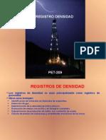 Registro Densidad