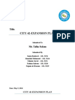 Case Report on City-42