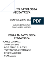 FEBRA IN PATOLOGIA PEDIATRICA.ppt