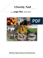 Food Security Strategic Plan