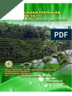 Statistik Lahan Pertanian 2013