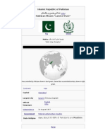 A Guide on Pakistan