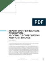 Financial Evaluation