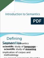 1. Introduction to Semantics (1)