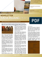 Newsletter Tata Ruang dan Pertanahan Edisi April 2015