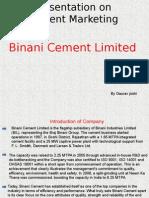 Binani Cement Marketing
