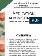 Oral Medication