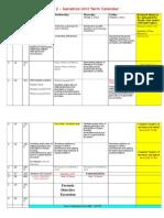 year 10 biology term 2 genetics unit calendar