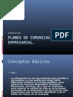 Planes de Comunicación Empresarial - Intro