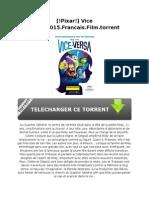 [!Pixar!] Vice Versa.2015.Francais.film.Torrent