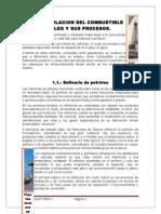 La Destilacion Del Combustible Petroleo y Sus Procesos