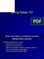 Spring Design 101