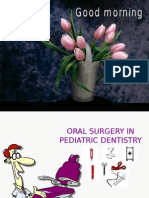 Oral Surgery in Pediatric Dentistry