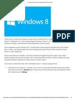 Cara Masuk Bios Atau UEFI Di Windows 8 Dan 8.1