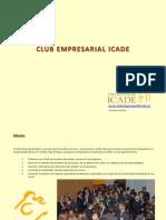 Dossier Club Empresarial ICADE Dic14