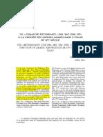 212724561 Le Coran de Mithridate a La Croisee Des Savoirs Arabes Dans l Italie Du XVe Siecle(1)