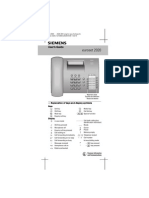 Euroset 2020 Telephone User Manual Eng