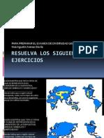 Resuelva Los Siguientes Ejercicios Para El Divers Id Ad Geografica Mundial