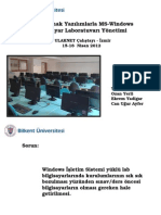 Linux Ile Lab Yonetimi