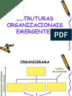 UNIDADE DE ORGANIZAÇÕES ESTRUTURAIS EMERGENTES VIGENTES