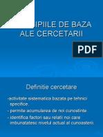 79577225 Principiile de Baza Ale Cercetarii