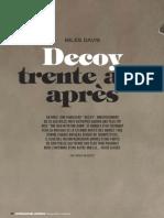 Miles Davis - Decoy 30 ans après