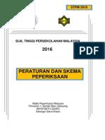 Peraturan Dan Skema Peperiksaan Stpm2016