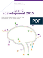 CIPFA - Learning and Development Directory 2015 Web