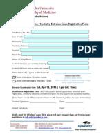 2015 Registration Form - Charles University Fa..