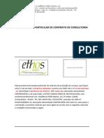 Modelo de Contrato de Prestação de Serviços - Ethos, FEJEPE