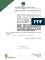 Regimento Geral do IFC
